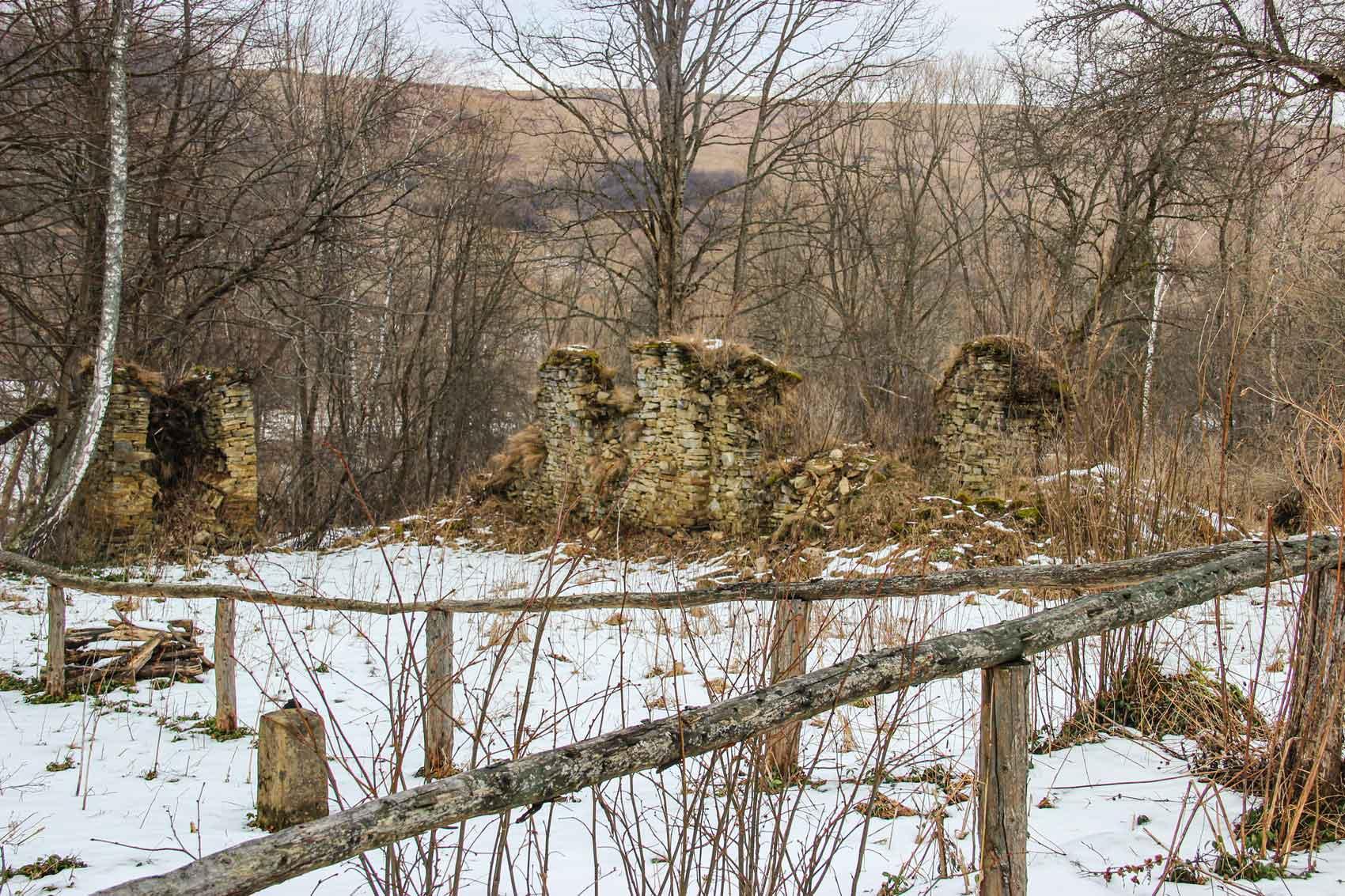 Ruiny Cerkwi w Hulskiem