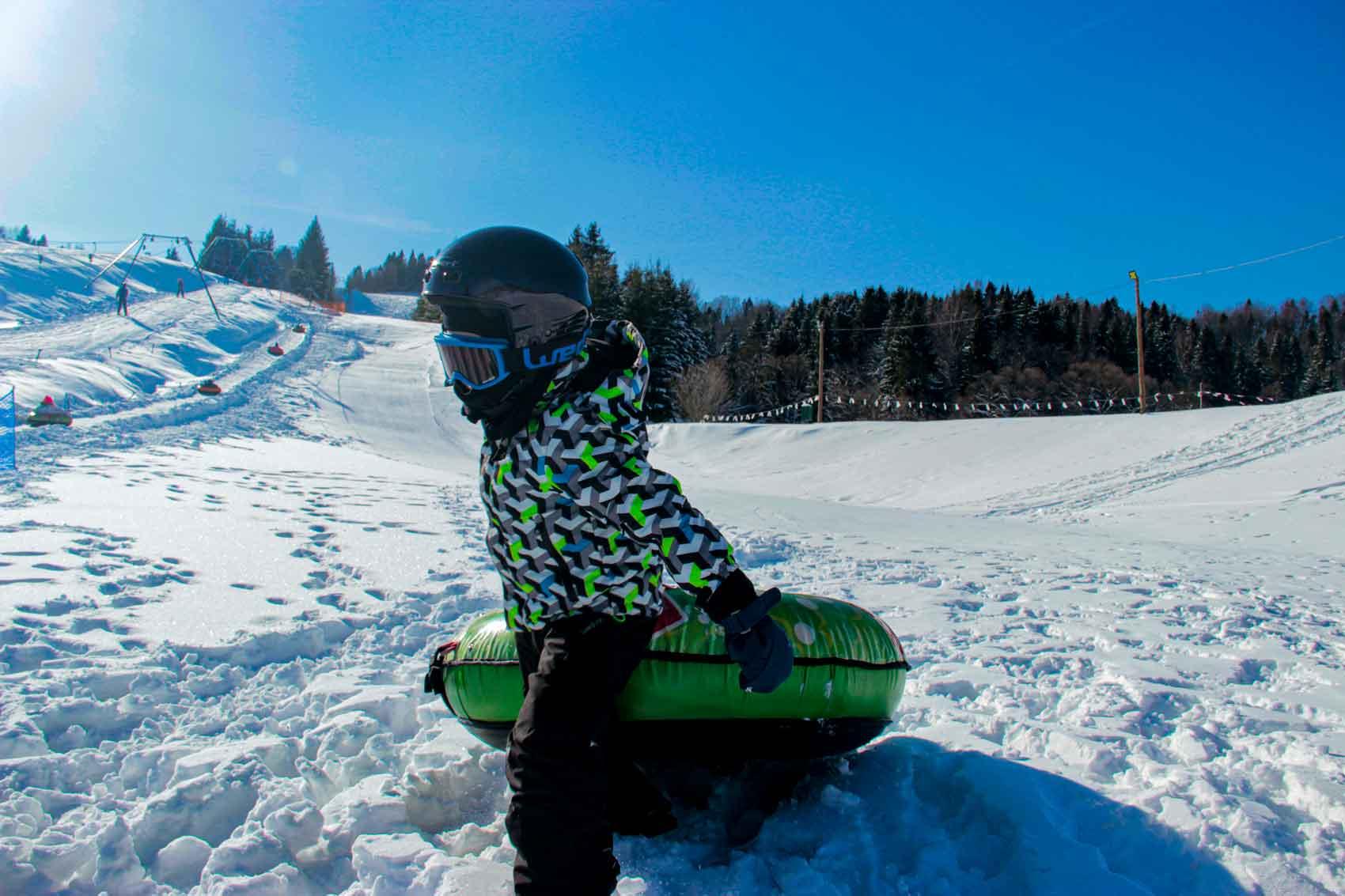 Snowtubing Kalnica