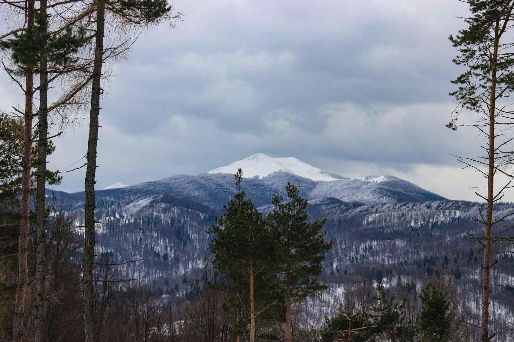 Widok na Smerek z góry Falowa